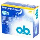O.B. ProComfort Night Normal Tampons 48 Pieces