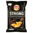 Lay's Strong Pikantne chipsy karbowane o smaku pieprz syczuański 150 g