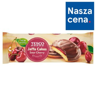 Tesco Jaffa Cakes Sour Cherry Biscuits with Chocolate 150 g