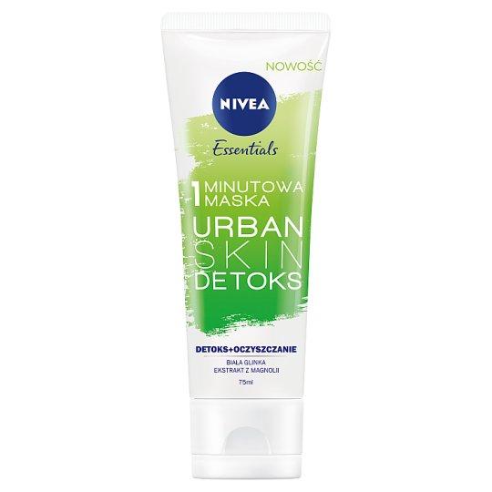 NIVEA Essentials Urban Skin Detoks 1 minutowa maska 75 ml