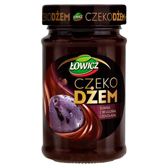 Łowicz Plum with Belgian Chocolate Choco Jam 250 g