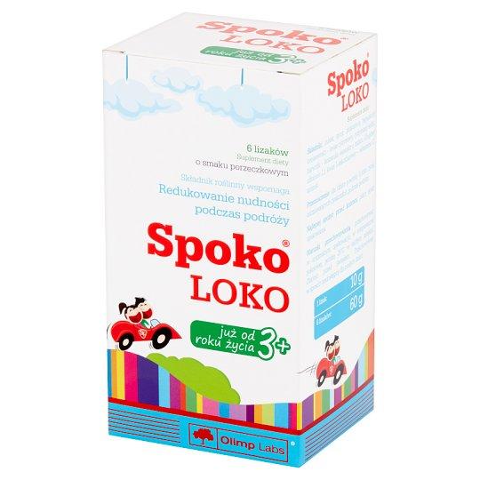 Olimp Labs Spoko Loko Dietary Supplement Lollipops 60 g (6 Pieces)