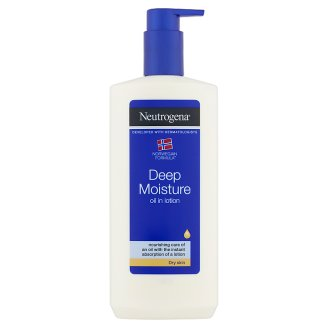 NEUTROGENA Deep Moisture Oil in Lotion 400 ml