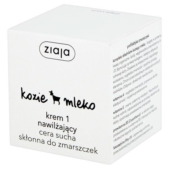 Ziaja Goat's Milk Cream 1 Moisturising for Dry Skin Prone to Wrinkle 50 ml