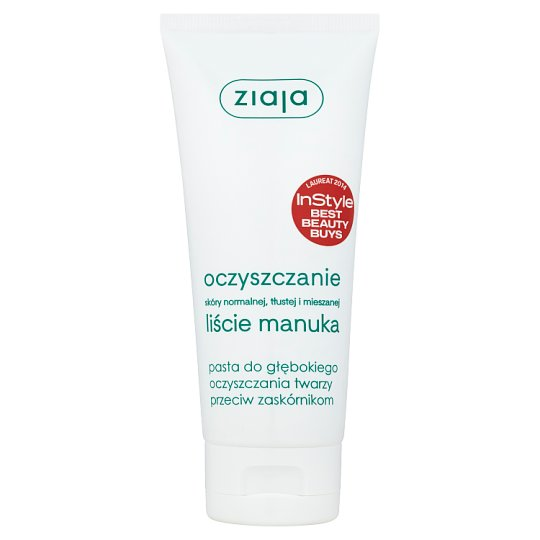 Ziaja Oczyszczanie Manuk Paste for Face Deep Cleansing against Blackheads 75 ml
