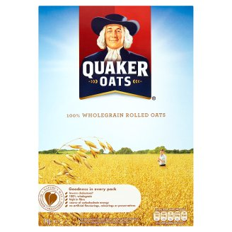 Quaker Oats Wholegrain Rolled Oats 1 kg