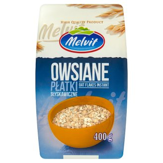 Melvit Oat Flakes Instant 400 g