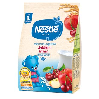 Nestlé Apple-Cherry after 8 Months Onwards Milk and Rice Porridge 230 g