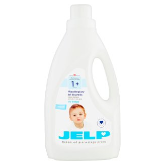 JELP 1+ Hypoallergenic Washing Gel to White 1.5 L (18 Washes)