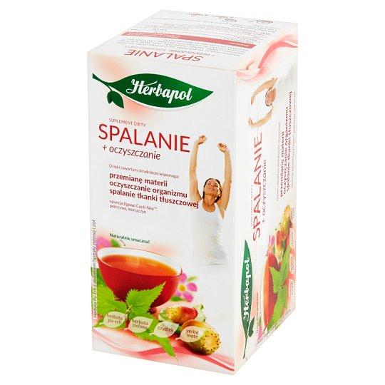 Herbapol Purify + Slim Diet Supplement Pu-erh Tea with Herbal 40 g (20 x 2 g)