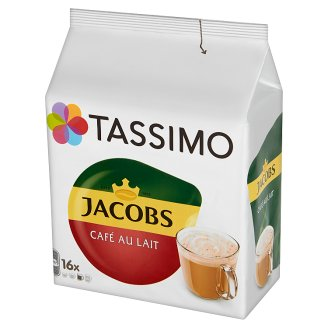 Tassimo Jacobs Café au Lait Powdered Drink 184 g (16 Capsules)