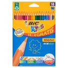Bic Kids Evolution Wood Free Resin Pencils 18 Colours