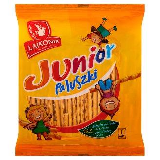 Lajkonik Junior Paluszki o smaku waniliowym 250 g