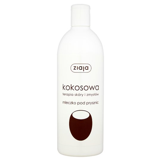 Ziaja Kokosowa terapia skóry i zmysłów Mleczko pod prysznic 500 ml