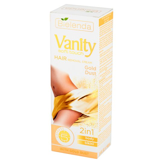 Bielenda Vanity Soft Touch Gold Dust Hair Removal Cream 100 ml