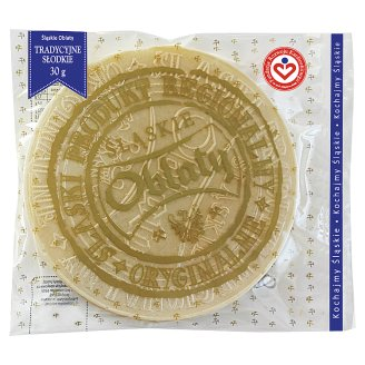 Śląskie oblaty tradycyjne słodkie 30 g