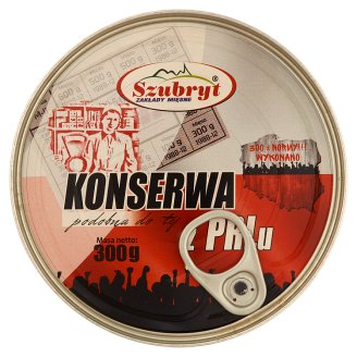 Szubryt Preserved Meat like PRL Style 300 g