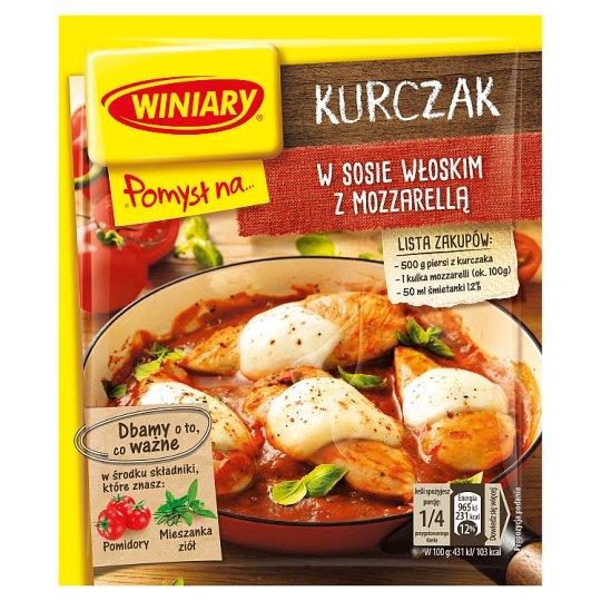 Winiary Pomysł na... Chicken in Italian Sauce with Mozzarella 35 g