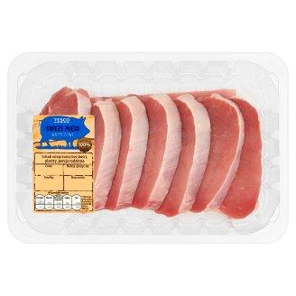 Tesco Schab wieprzowy bez kości plastry porcja rodzinna 720 g