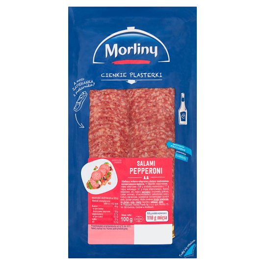 Morliny Pepperoni Salami 100 g