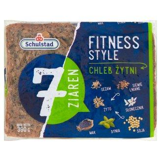Schulstad Fitness Style 7 Grains Rye Bread 390 g