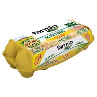 Farmio GMO-Free Bedding Eggs L 10 Pieces