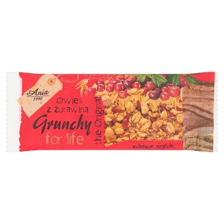 Ania Oat with Cranberry Grunchy Bar 65 g