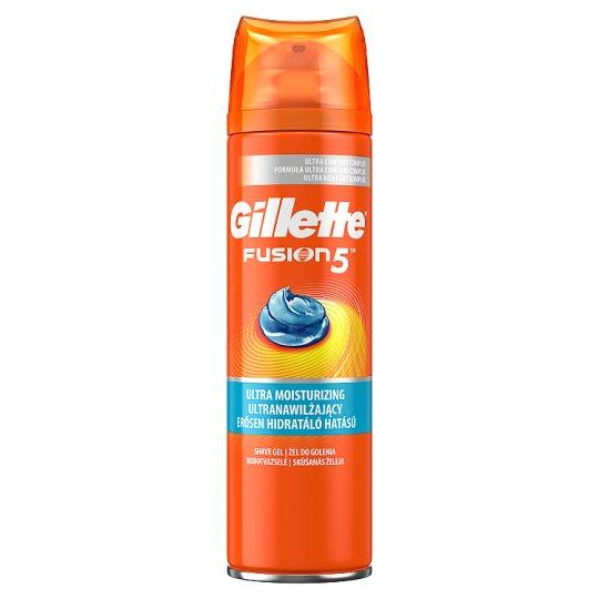 Gillette Fusion5 Nawilżający żel do golenia 200ml