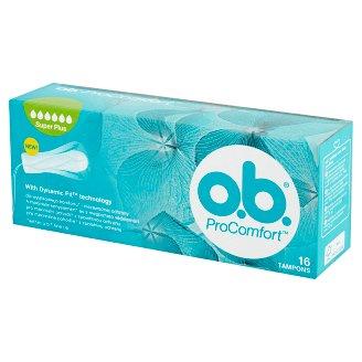O.B. ProComfort Super Plus Tampons 16 Pieces