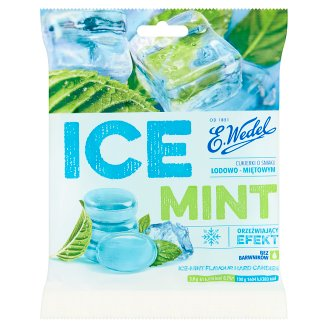 E. Wedel Ice Mint Ice-Mint Flavour Hard Candies 90 g