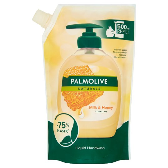 Palmolive Naturals Milk & Honey Liquid Handwash Refill 500 ml