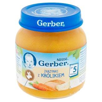 Gerber Delicate Vegetables with Rabbit after 5 Months Onwards 125 g