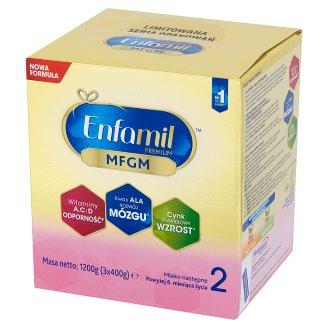 Enfamil Premium 2 Mleko następne powyżej 6. miesiąca życia 1200 g (3 sztuki)