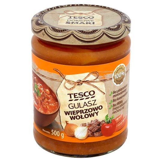 Tesco Beef Pork Goulash 500 g