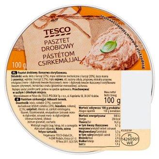 Tesco Pasztet drobiowy 100 g