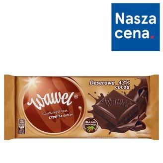 Wawel Deserowa 43% Cocoa Czekolada 100 g