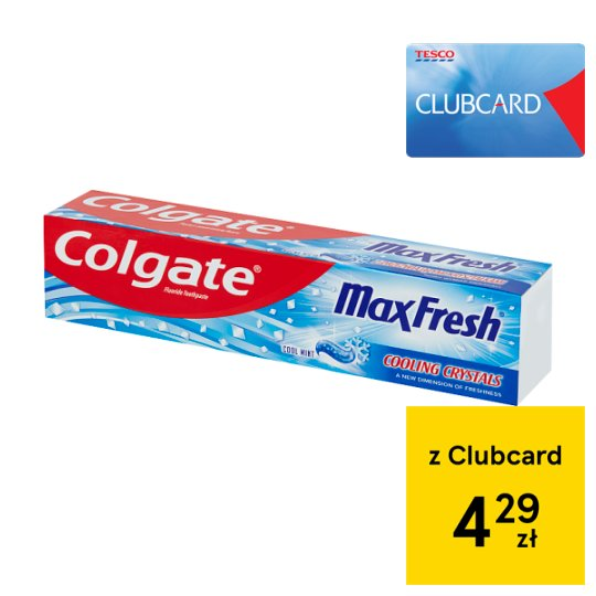 Colgate Max Fresh Cool Mint Fluoride Toothpaste 125 ml
