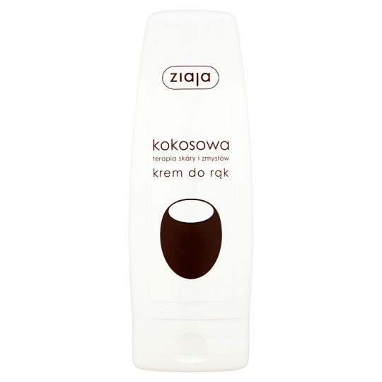 Ziaja Coconut Therapy Skin and Senses Hand Cream 80 ml