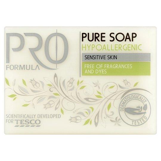 Tesco Pro Formula Szare mydło hipoalergiczne w kostce 200 g