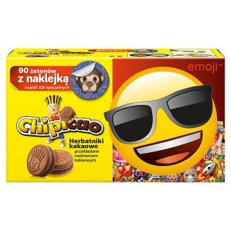 Chipicao Biscuits with Cocoa Filling 50 g