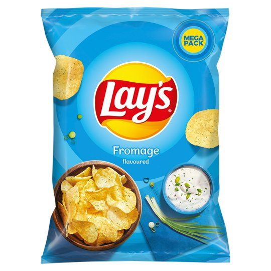 Lay's Chipsy ziemniaczane o smaku śmietankowego serka z ziołami 215 g