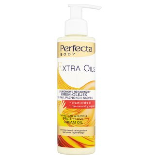 Perfecta Body Extra Oils Hand Nail & Cuticle Protective Cream Oil 195 ml