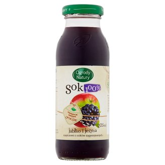 Ogrody Natury Apple and Blackberry 100% Juice 225 ml