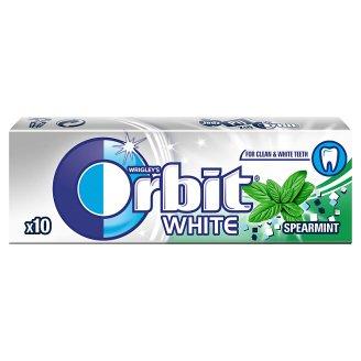 Orbit White Spearmint Sugarfree Chewing Gum 14 g (10 Pieces)