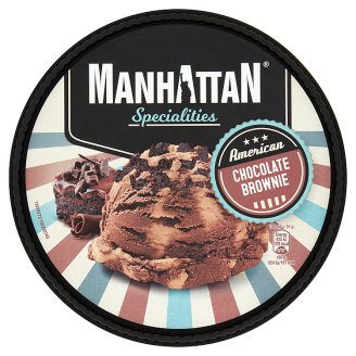 Manhattan Specialities Chocolate Brownie Ice Cream 1000 ml