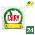 Fairy All In One Dishwasher Tablets Lemon 24 per Pack