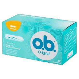 O.B. Original Normal Tampons 32 Pieces