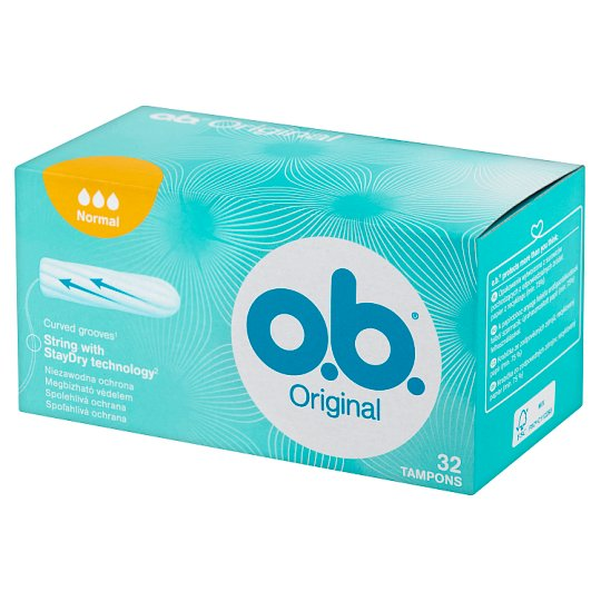 O.B. Original Normal Tampons 32 Pieces