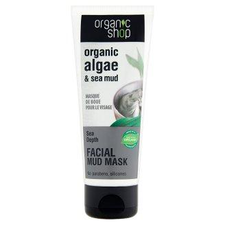 Organic Shop Maska błotna do twarzy Organiczne algi & błoto morskie 75 ml