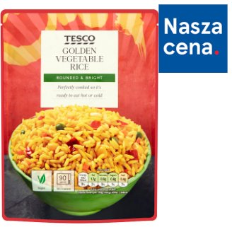 Tesco Golden Vegetable Rice 250 g